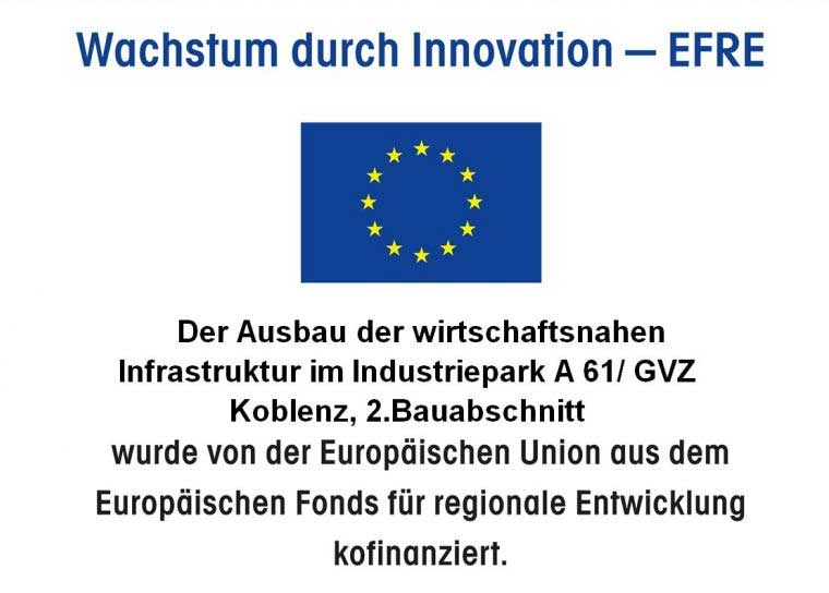 Wachstum durch Innovation - EFRE